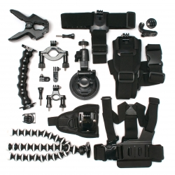 Multipurpose action camera mounts kit