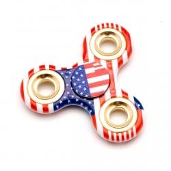Ceramic tri-spinner