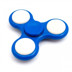 LED light tri-spinner