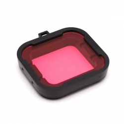 Pink dive filter for GoPro HERO4 Standard housing