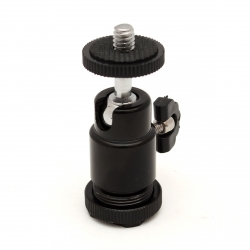 Ballhead mount for monopod