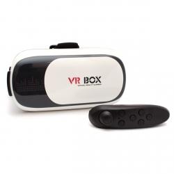 Очки виртуальной реальности VR BOX II с джойстиком Gamepad (очки, джойстик)