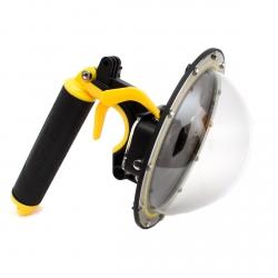 Подводный купол Telesin со спусковым крючком для GoPro HERO7, HERO6 и HERO5 Black