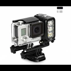Knog QUDOS ACTION – свет для камер GoPro (прикреплен к GoPro HERO3)