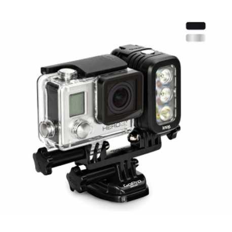 Knog QUDOS ACTION – свет для камер GoPro (прикреплен к GoPro HERO3)