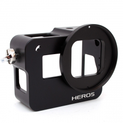 Aluminum housing for GoPro HERO5 Black