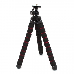 Large size sponge tripod for GoPro and mirrorless camera