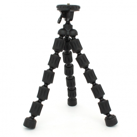 Joint flexible octopus tripod for GoPro