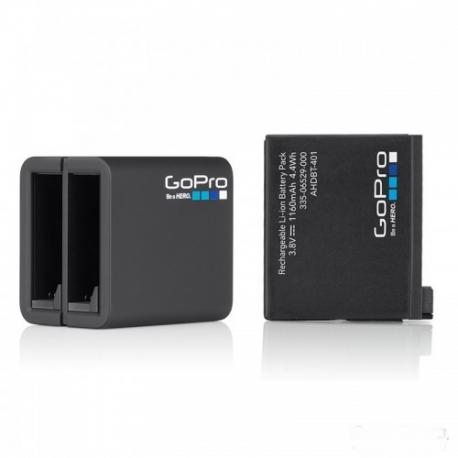 Зарядний пристій GoPro Dual Battery Charger с батареей для HERO4 (загальний вигляд)