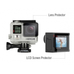 Protective film for GoPro HERO4 Silver lens and display