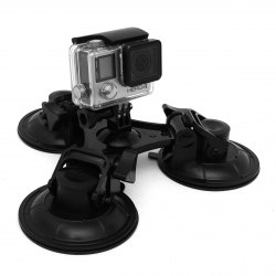 Велика потрійна присоска для GoPro