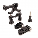 Bicycle mount (20-36 mm) with 3-way pivot arm