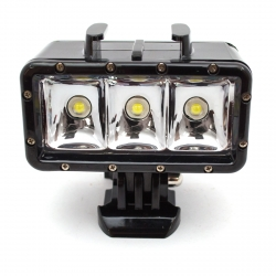 Shoot diving light for GoPro - 3 LED