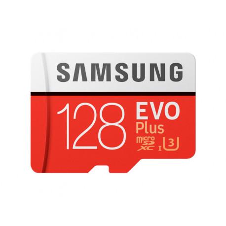Карта памяти SAMSUNG EVO PLUS microSDXC 128GB UHS-I U3