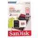 Memory card SanDisk Ultra A1 MicroSDHC UHS-I 32GB U1 653x
