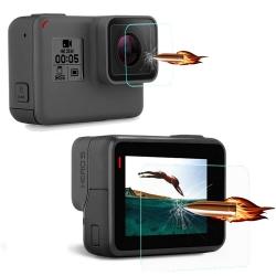 Защитное стекло для линзы и экрана GoPro HERO5 Black