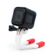 Tooth mount for GoPro Grill Mount