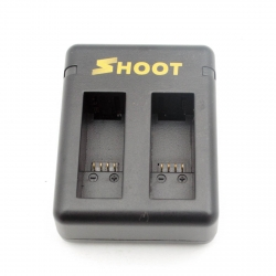 Charger SHOOT for GoPro HERO7, HERO6 and HERO5 Black