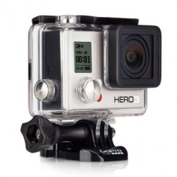 Экшн-камера GoPro HERO3 White Edition (вид слева)