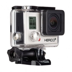 Экшн-камера GoPro HERO3+ Silver Edition (вид слева)