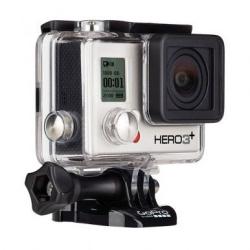 Экшн-камера GoPro HERO3+ Silver Edition (вид слева)