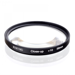 Macro lens 58 mm Close-Up +10 for GoPro