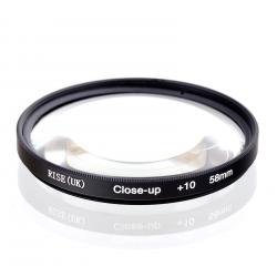 Макро лінза для GoPro - 58 мм Close-up +10