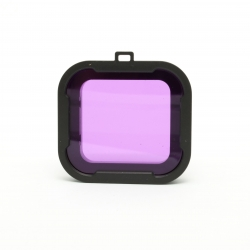 Magenta dive filter for GoPro HERO4