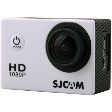 Action Camera SJCAM 4000, front view with connectors