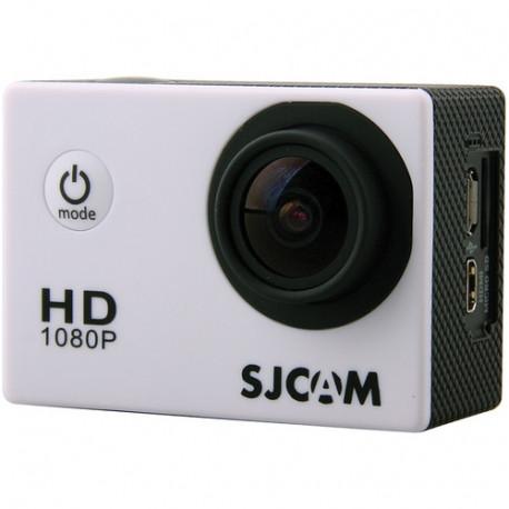 Экшн-камера SJCAM 4000, фронтальный вид с разъемами