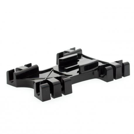 Крепление для GoPro на стропы кайта (вид сбоку)
