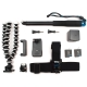 GoPro HERO6 and HERO5 Black accessories kit for travelers
