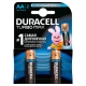 Batteries DURACELL AA LR06 MN1500 Turbo Max 2 pcs, appearance