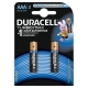Batteries DURACELL AAA LR03 MN2400 Turbo Max 2 pcs, appearance