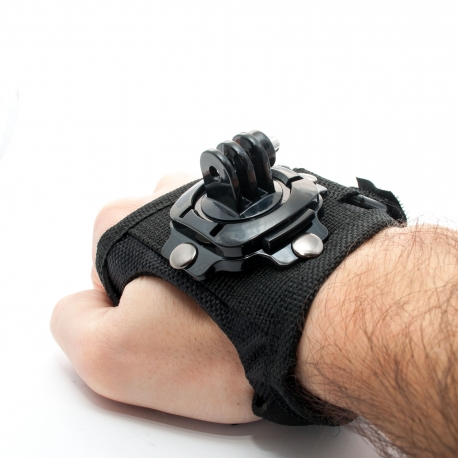Rotating hand mount for GoPro