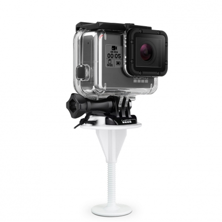 GoPro BodyBoard Mount, with the camera