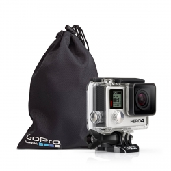 Set of GoPro covers, with camera