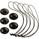 Safety set for additional fixing GoPro Camera Tethers, complete set