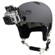 Safety set for additional fixing GoPro Camera Tethers, installation on a helmet