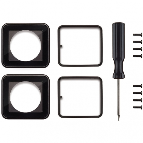 Original replacement of glass Lens Replacement Kit for underwater case GoPro Hero3+, complete set