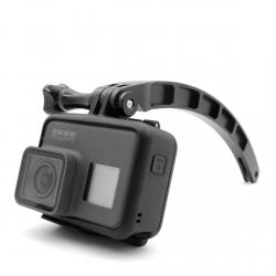 Aluminum extension arm for GoPro