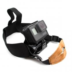 Крепление для GoPro на голову с ремнем