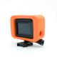 Floaty red sponge frame for GoPro HERO6. HERO5, HERO4 and HERO3