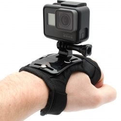 Hand mount for GoPro fixed