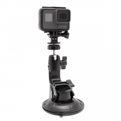 Car suction cup mount for GoPro