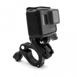 Rotating handlebar (25-30 mm tube) mount for GoPro