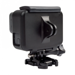 GoPro HERO7, HERO6 and HERO5 Black frame backdoor with mount