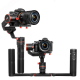 Стабилизатор для беззеркальных камер Feiyu α1000, с одноручным и двуручным держателем