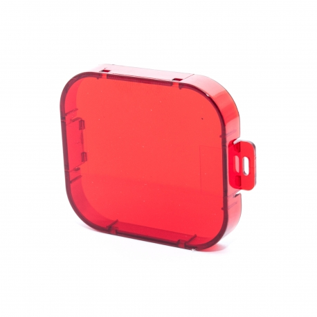 Красный фильтр для GoPro HERO3 (вид спереди)
