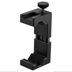Metal phone holder for a tripod ST-02
